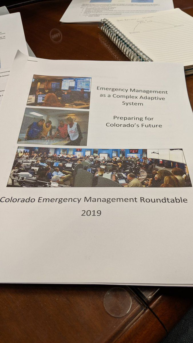 Transforming Emergency Management in Colorado & the Work of Paul Cilliers